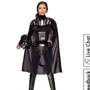 Star Wars Women's Darth Vader Costume